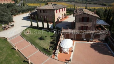 Villa for sale Tuscany Italy Foiano Chianti
