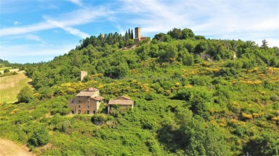For sale villa tuscany poppi italy